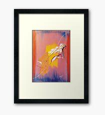 Aphrodite's Pain Framed Print
