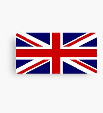 Union Jack, British Flag, UK, United Kingdom, Pure & simple, 1:2 Canvas Print