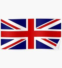 Union Jack, British Flag, UK, United Kingdom, Pure & simple, 1:2 Poster