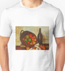 Still Life With Apples after Cezanne Unisex T-Shirt