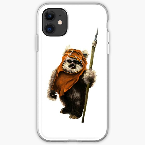 Ewok #1 iPhone Soft Case