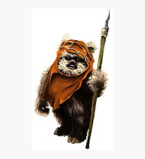 Ewok #1 Photographic Print