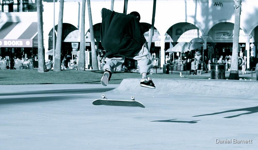 Kick Flip- Venice Beach by Daniel Barnett
