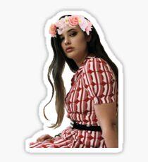 Katherine Langford Flower Crown Sticker