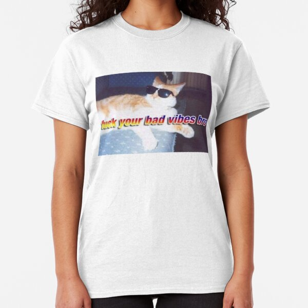 Aesthetic Cool Cat  Classic T-Shirt