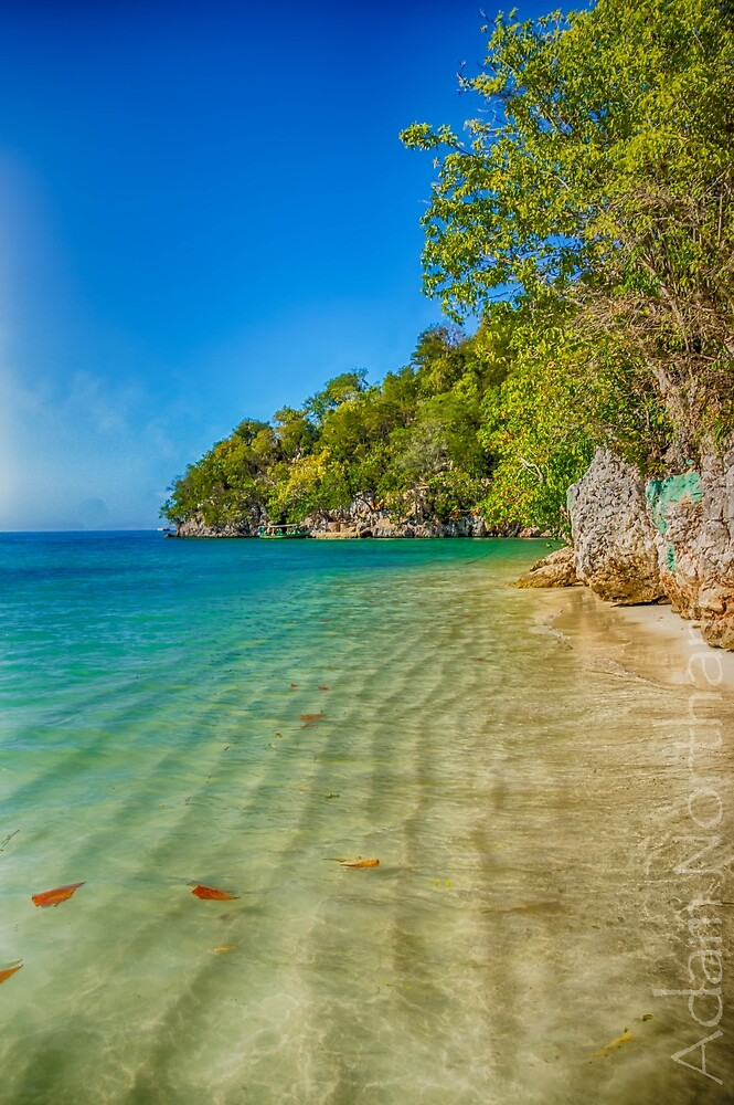 The Beach at Dhaloo by Adam Northam