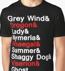 Direwolves & Dragons Graphic T-Shirt
