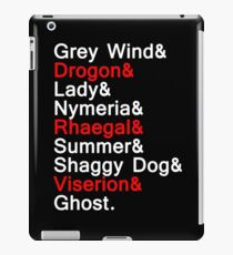 Direwolves & Dragons iPad Case/Skin