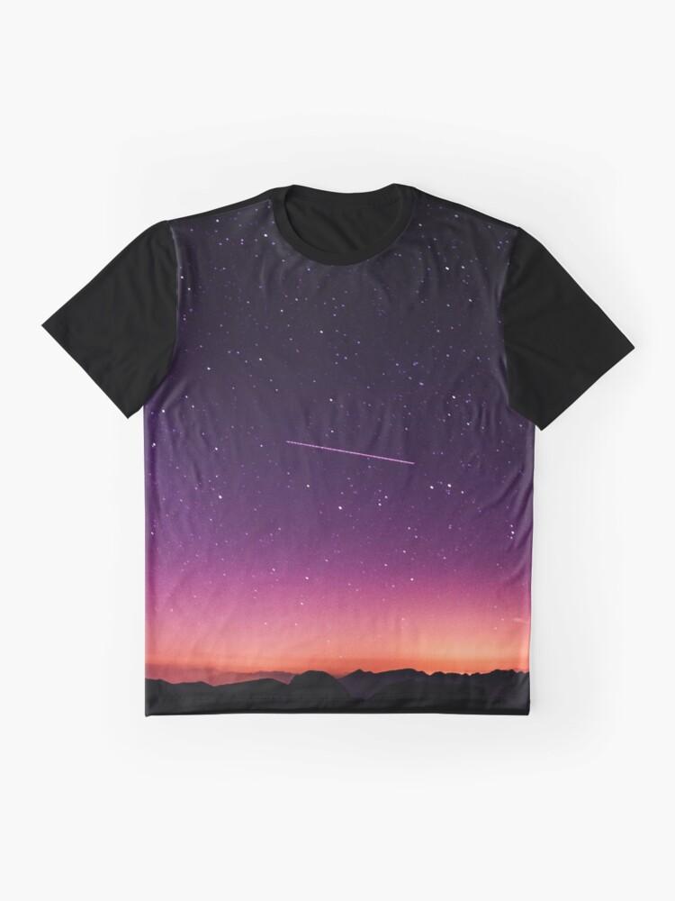 Alternative Ansicht von Für die Sterne schießen Grafik T-Shirt