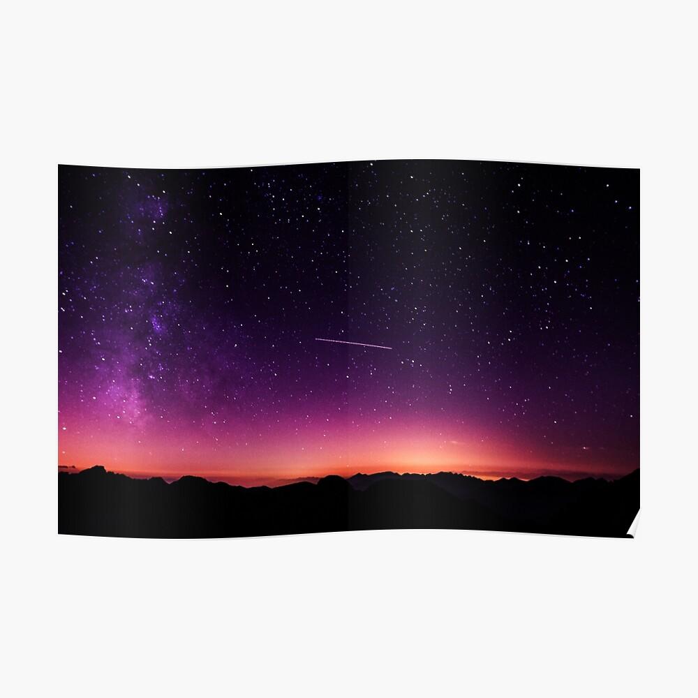 Für die Sterne schießen Poster