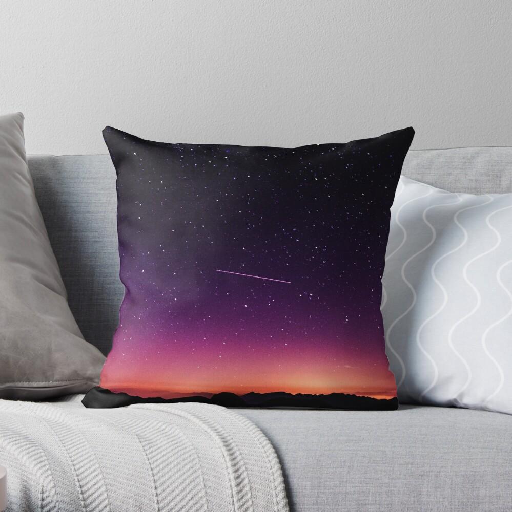 Für die Sterne schießen Dekokissen