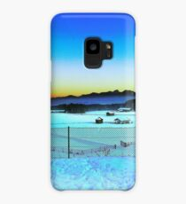Beautiful Sunset over Austrian Mountains Case/Skin for Samsung Galaxy