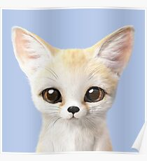 Denny the Fennec fox Poster