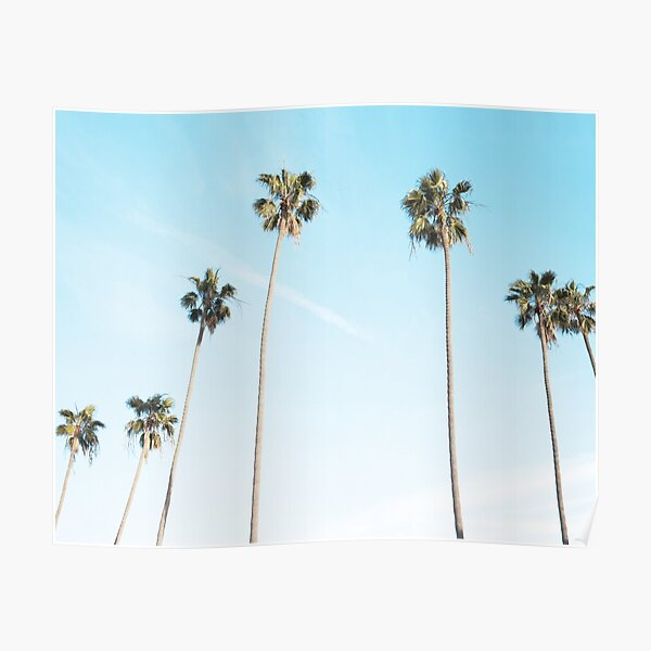 Palms print, Palm art, Minimalist Poster
