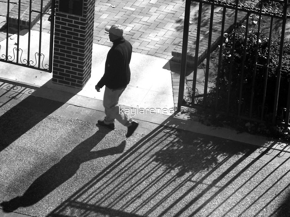 Walkin.. all by myself by kaylarenee