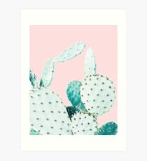 Cacti, Cactus, Cacti print, Cactus art, Desert, Nature, plant, Minimalist, Modern Art Print