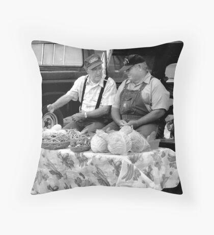 Crop Talk Throw Pillow