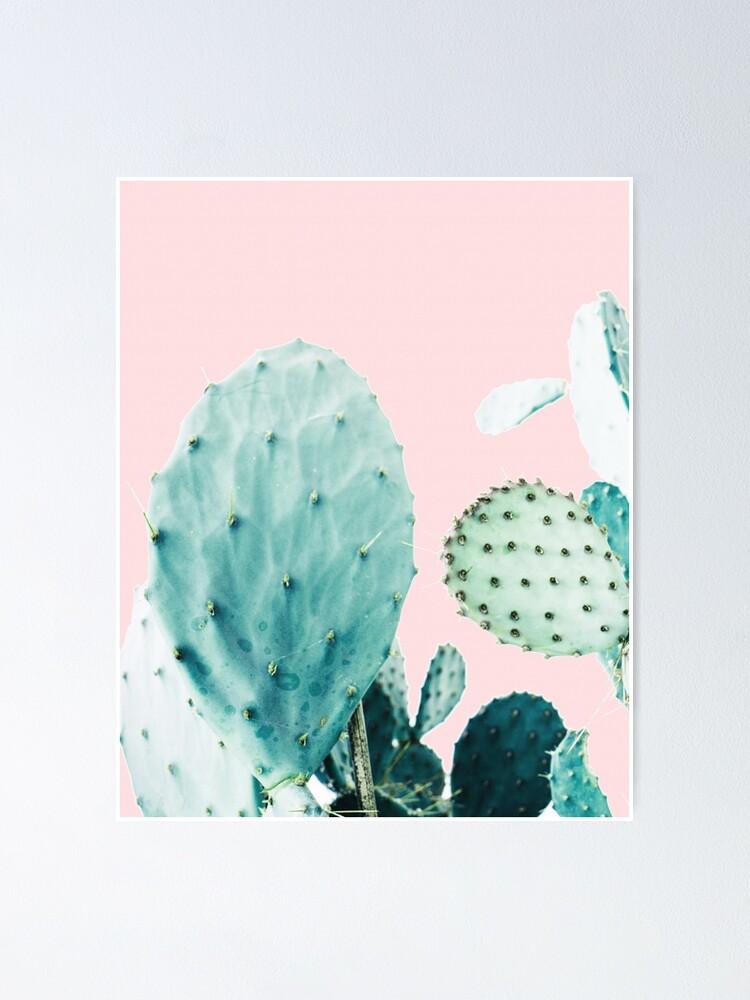 Alternate view of Cacti, Cactus, Cacti print, Cactus art, Desert, Nature, plant, Minimalist, Modern Poster