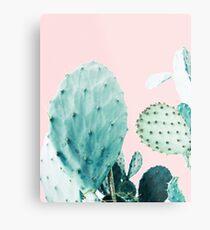 Cacti, Cactus, Cacti print, Cactus art, Desert, Nature, plant, Minimalist, Modern Metal Print