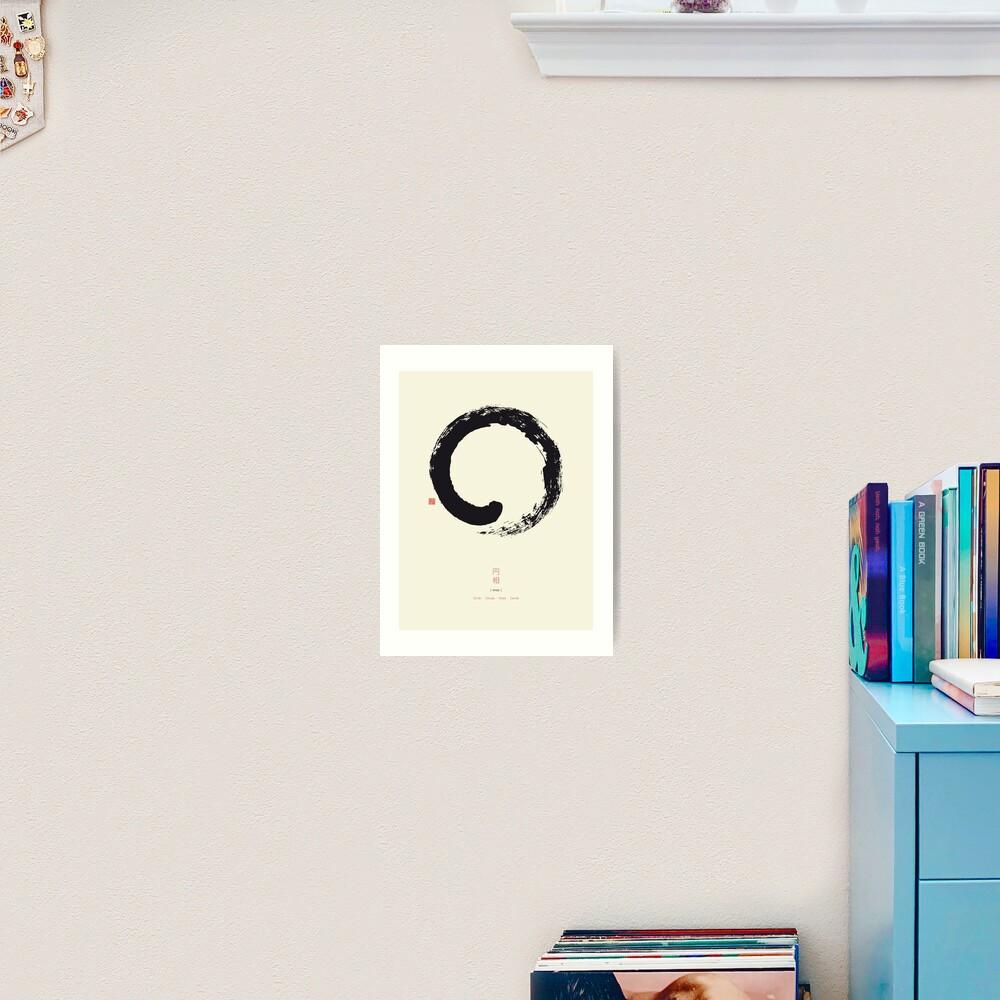 Ensō / Japanese Zen Circle Art Print