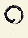 Ensō / Japanese Zen Circle by Thoth Adan