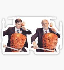 Shawarma Musicians Sticker