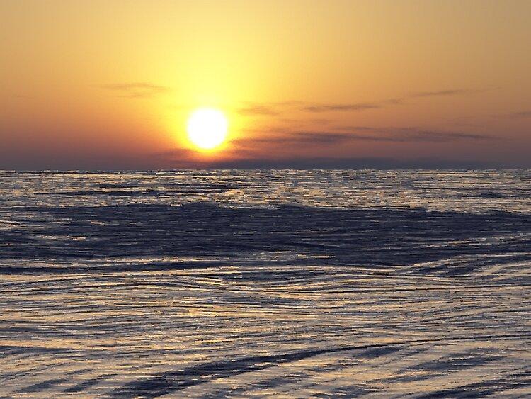 sunset by eraline