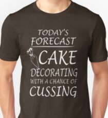 Cake Best T-Shirt for Cake Decorate Cake Decorator and Cake Decorating T-Shirt