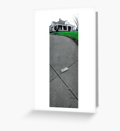The Driveway Greeting Card