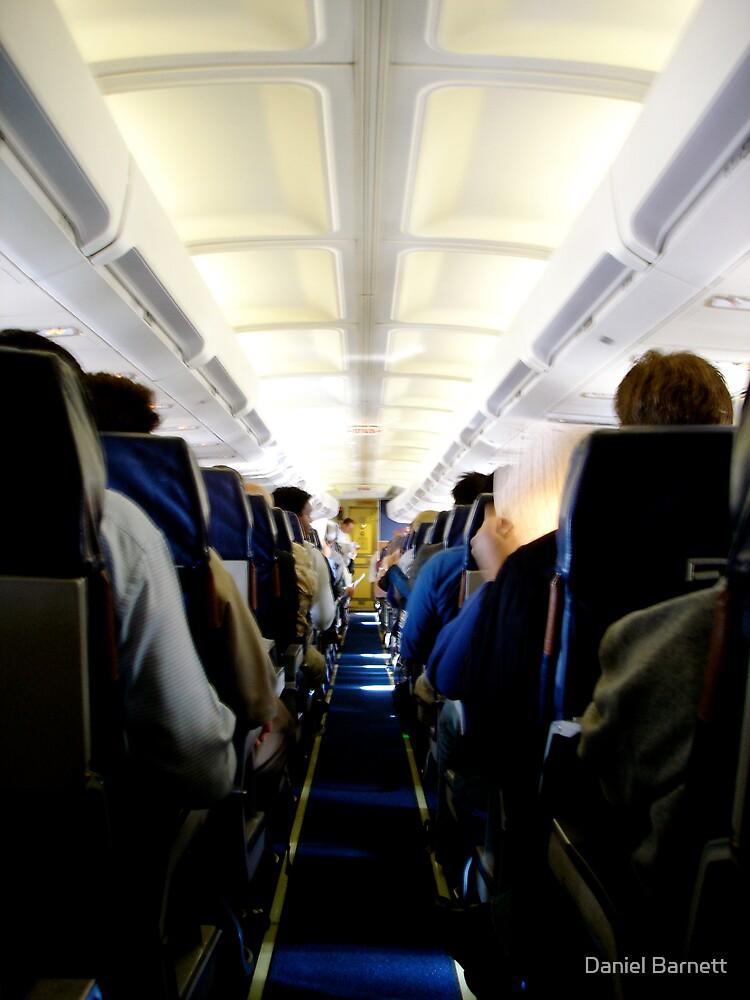 One day I'll fly first class by Daniel Barnett