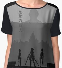 The wall is broken - AOT Chiffon Top