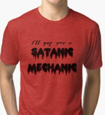 Rocky Horror - Satanic Mechanic Tri-blend T-Shirt