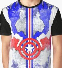 July 4th Armeican Patriot Graphic T-Shirt