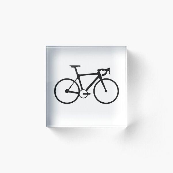 también conocida como bicicleta de carretera Bloque acrílico
