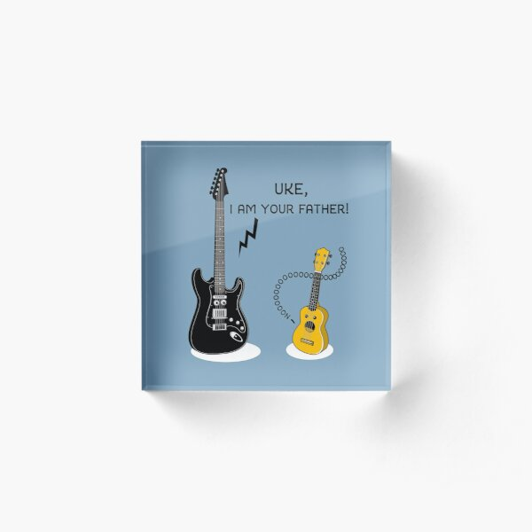 Uke, I am your Father! Acrylic Block