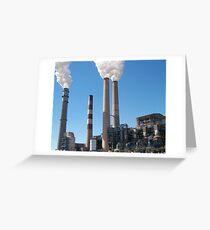 smoke stack Greeting Card