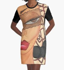 SHE KNOWS Graphic T-Shirt Dress