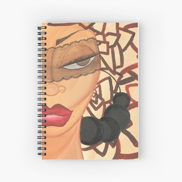 SHE KNOWS Spiral Notebook