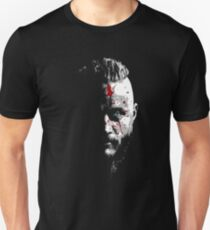 Bloody Ragnar Face T-Shirt