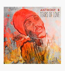 Anthony B - Tears of Love Photographic Print