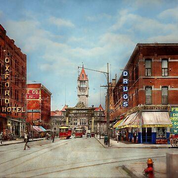 City - Denver Colorado - Welcome to Denver 1908 by mikesavad