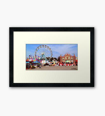 Warren County A&L Fair Midway Framed Print