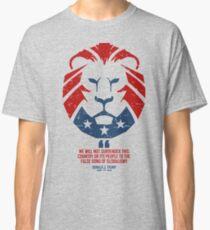 Falsches Lied des Globalismus / MAGA Lion Classic T-Shirt