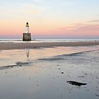 Lighthouse Sunset - Rattray Head by Grant Glendinning