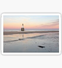 Lighthouse Sunset - Rattray Head Sticker