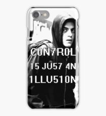 Control is just an illusion (Mr. Robot) iPhone Case/Skin