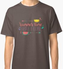 Summer Time Here I Come Classic T-Shirt
