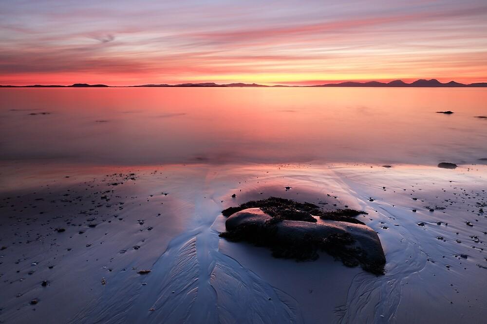 Kintyre Coastal Sunset by Grant Glendinning