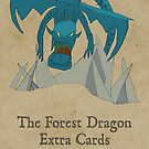 Forest Dragon Deck Box Sticker by Jon Hodgson