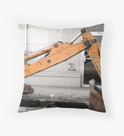 Walk In's Welcome Throw Pillow